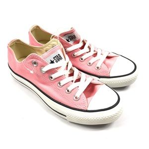 Converse All Star Low Pink Canvas Shoes